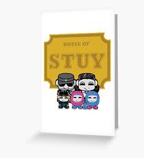 O'BABYBOT: House of Stuy Family Greeting Card