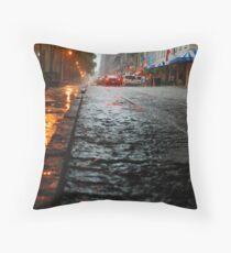 River Street, Savannah 2 Throw Pillow