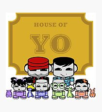 O'BABYBOT: House of Yo Family Photographic Print