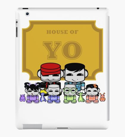 O'BABYBOT: House of Yo Family iPad Case/Skin