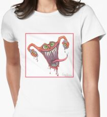 Angry Uterus Womens Fitted T-Shirt