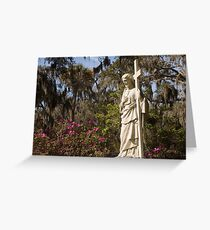 Bonaventure Cementery Greeting Card
