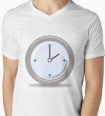 Clock Two Men's V-Neck T-Shirt