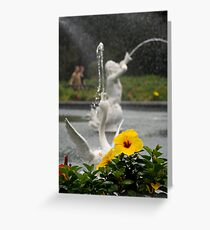 Faountain At Forsyth Park Greeting Card