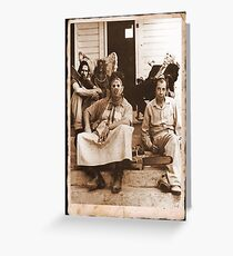 Texas Chainsaw Massacre Greeting Card