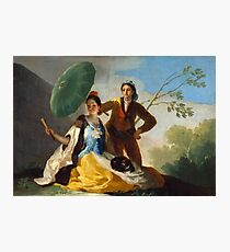 Francisco Goya - The Parasol - El Quitasol  Photographic Print