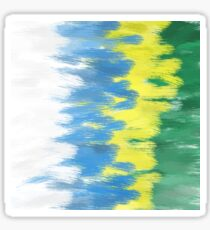 Brazil Colors Sticker