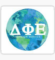 DPE Service Sticker Globe Sticker