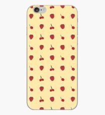 Cherry & Strawberry Pattern iPhone Case
