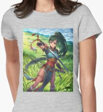 Lyn - Fire Emblem: The Binding Blade  Womens Fitted T-Shirt