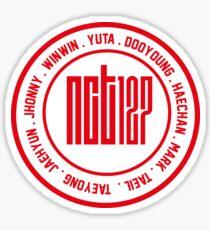 Pegatina NCT 127 OT9 miembro