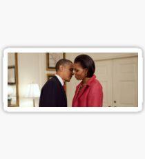 The Obama Lovebirds Sticker