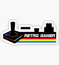 retro gamer retrogamer Sticker