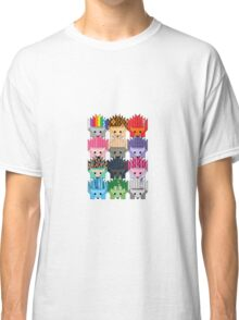Colorful Hedgehogs Classic T-Shirt