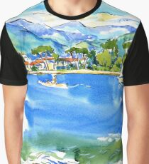 river Magra in Liguria, Italy Graphic T-Shirt