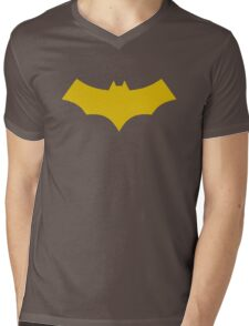Batgirl, Burnside Logo Variant Mens V-Neck T-Shirt