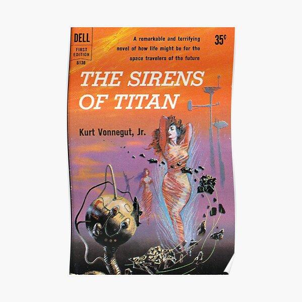 The Sirens of Titan by Kurt Vonnegut - Siren Cover Poster