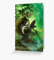 Chen Stormstout Greeting Card