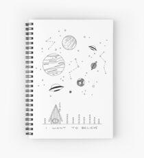 X-Files IWTB Spiral Notebook