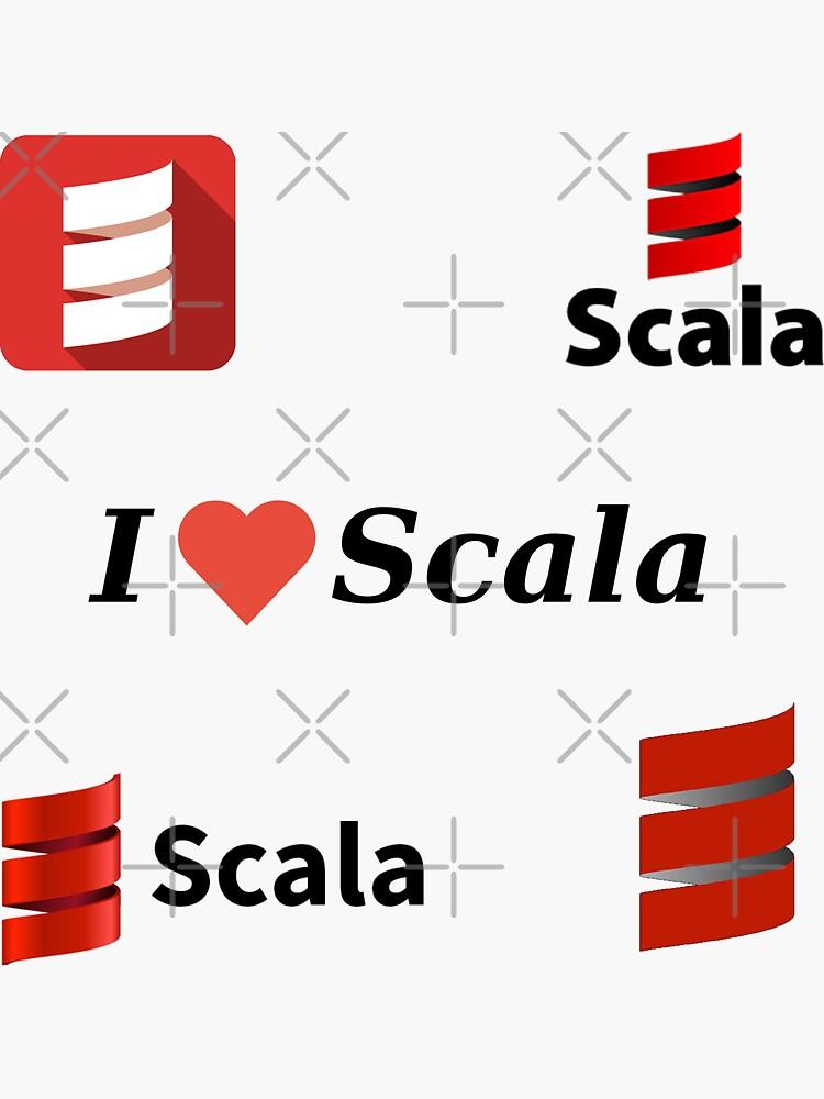 scala sticker set de yourgeekside