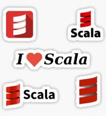 scala sticker set Sticker