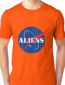 Nasa Aliens Parody Logo Unisex T-Shirt