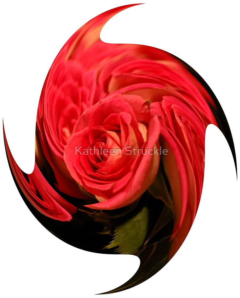 Rose Twirl by Kathleen Struckle