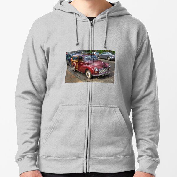 Morris Minor 1000 Traveller Zipped Hoodie