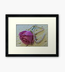 Knit One, Pearl One Framed Print
