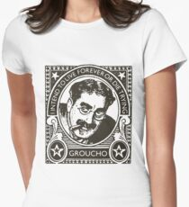 Vintage Groucho  Womens Fitted T-Shirt