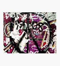 Graffiti on the Berlin Wall Photographic Print