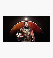 Mars Explorer Photographic Print