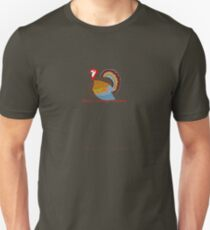Merry Clucking Christmas Unisex T-Shirt