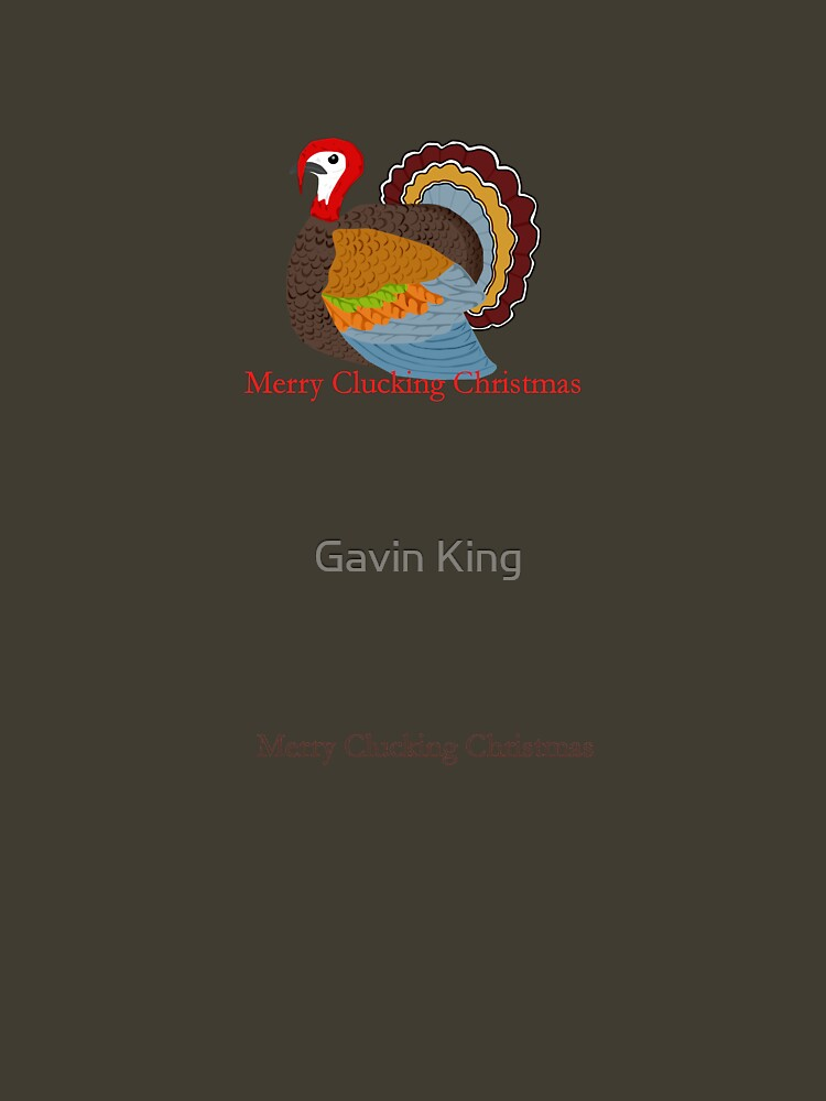 Merry Clucking Christmas by gavinkingphotography