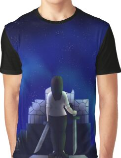 Moonlit Graphic T-Shirt