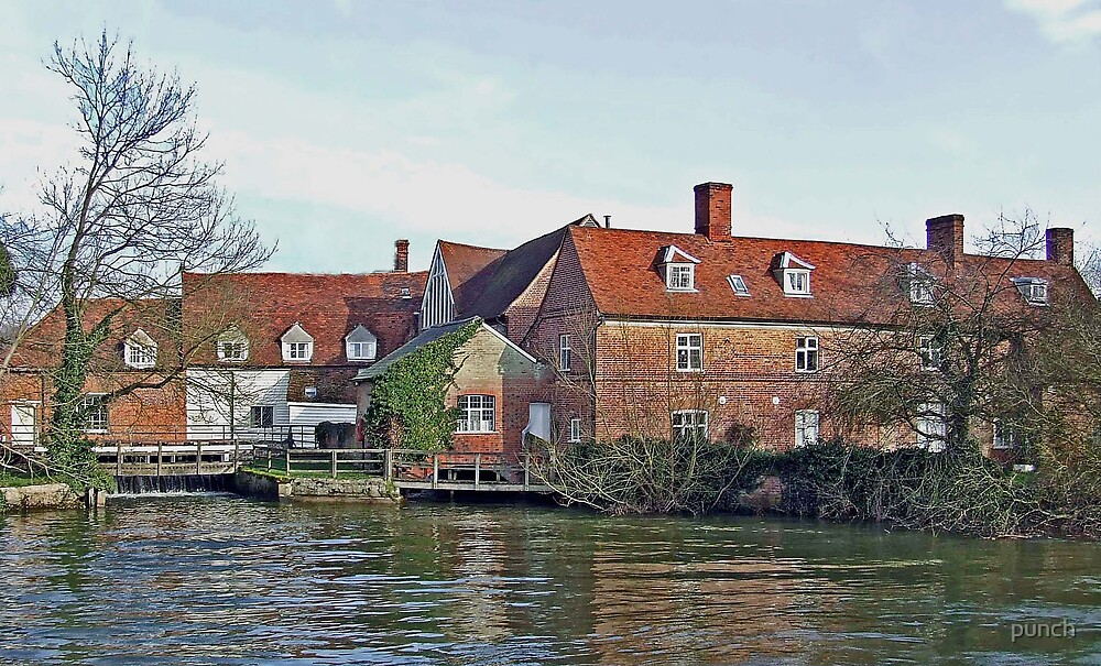 Flatford Mill by punch