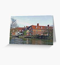 Flatford Mill Greeting Card