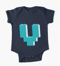 THE LETTER V by Customize My Minifig One Piece - Short Sleeve