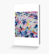 Abstract 158 Greeting Card