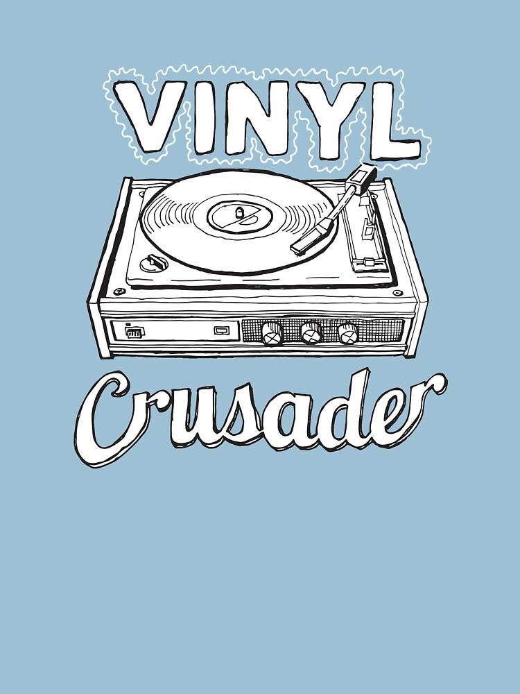 Vinyl Kreuzritter Hipster von carlhuber