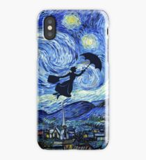 Mary Poppins Starry Night iPhone Case/Skin