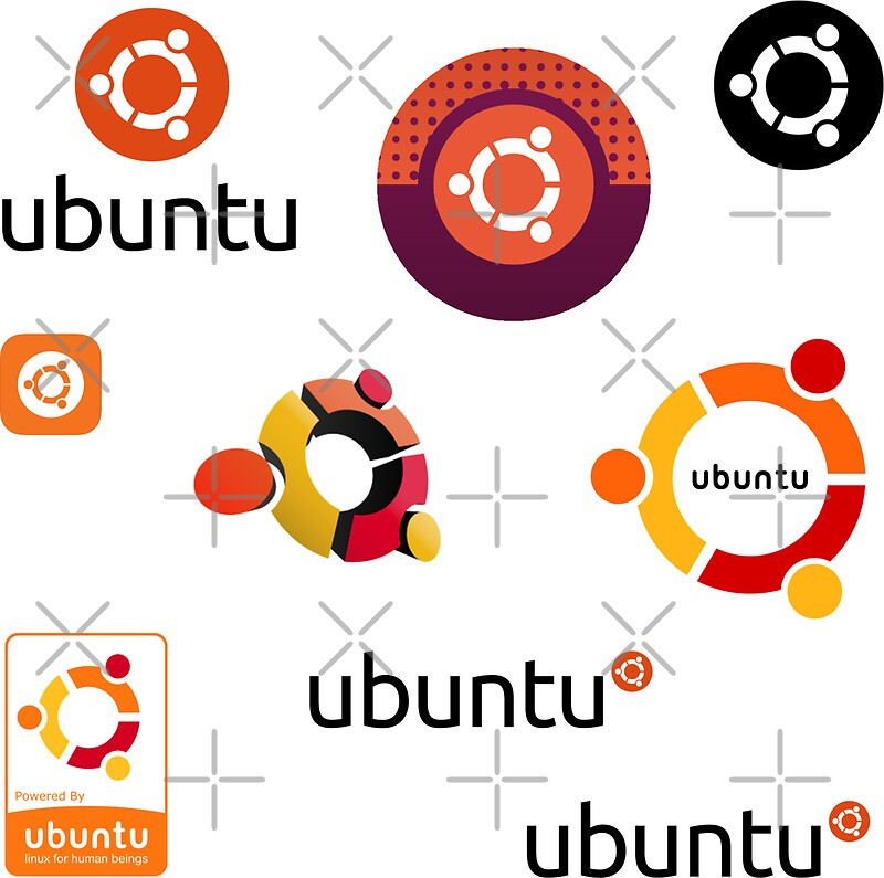 Quot Ubuntu Linux Sticker Set Quot Stickers By Yourgeekside
