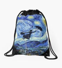 Mochila saco Mary Poppins Starry Night