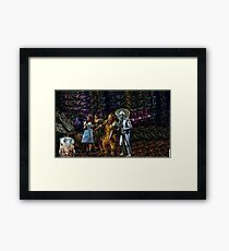 Wizard Of WHO? Framed Print