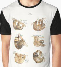 Sloths Graphic T-Shirt