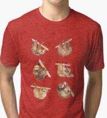Sloths Tri-blend T-Shirt