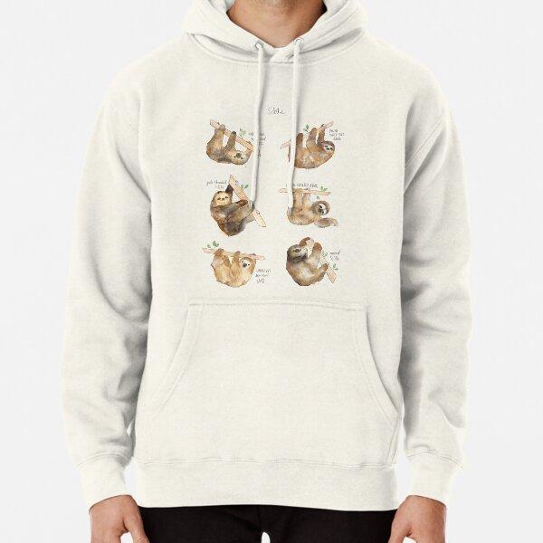 Sloths Pullover Hoodie