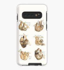 Sloths Case/Skin for Samsung Galaxy