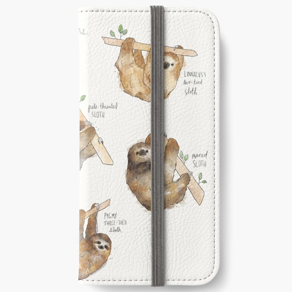 Sloths iPhone Wallet