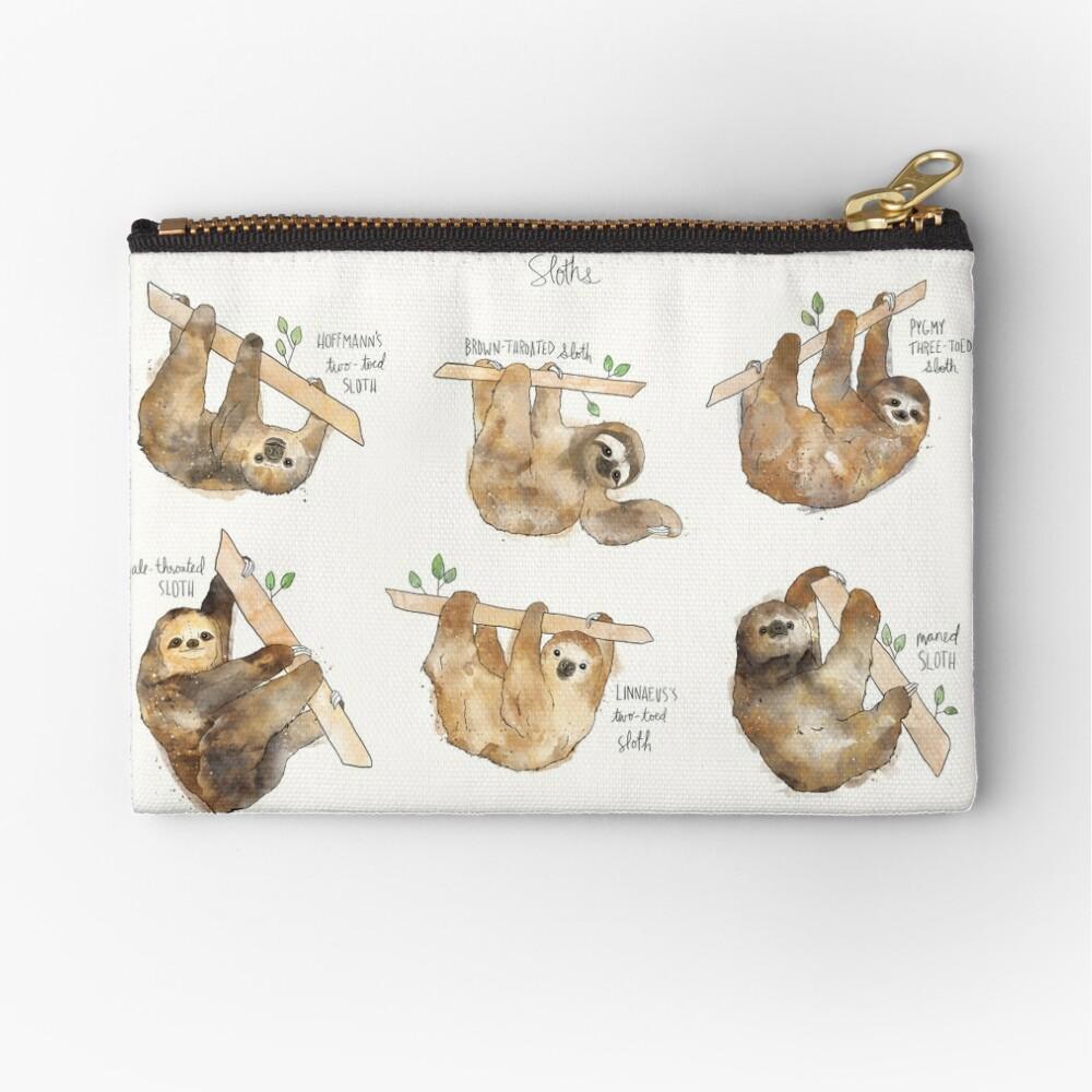 Sloths Zipper Pouch